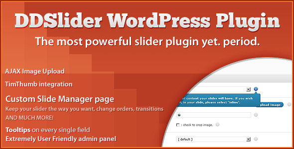 DDSlider WordPress plugin