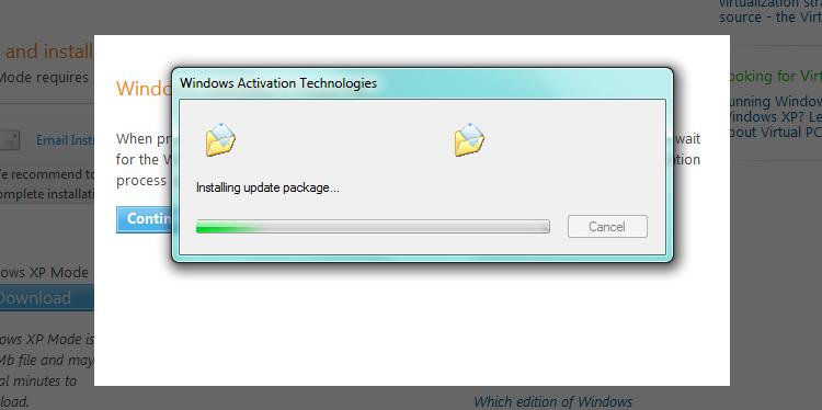 Windows Activation Technologies