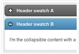 jQuery Mobile Collapsibles