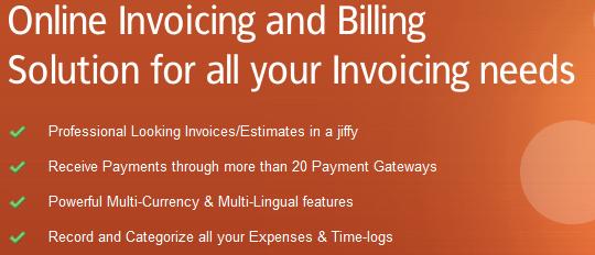 Invoicera online invoicing