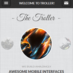 troller mobile wordpress theme