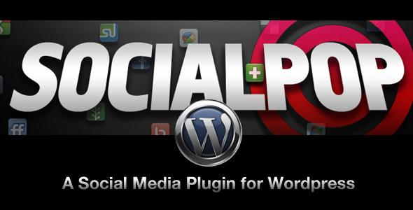 SocialPop -  A Social Media Plugin for WordPress