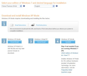 Select your edition of Windows 7