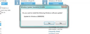 Update for Windows (KB958559)