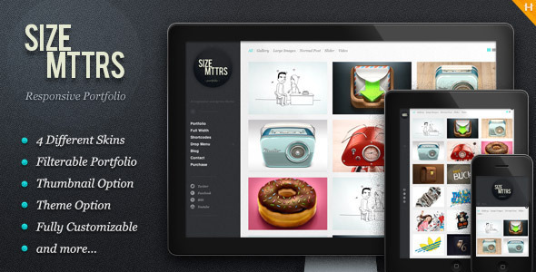 Size Mttrs - responsive WP theme
