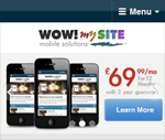 Wow wordpress mobile theme