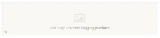 Ghost image uploader